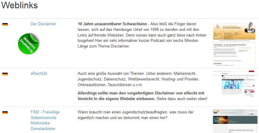 SEBLOD: Weblinks mit automatisierten Screenshots